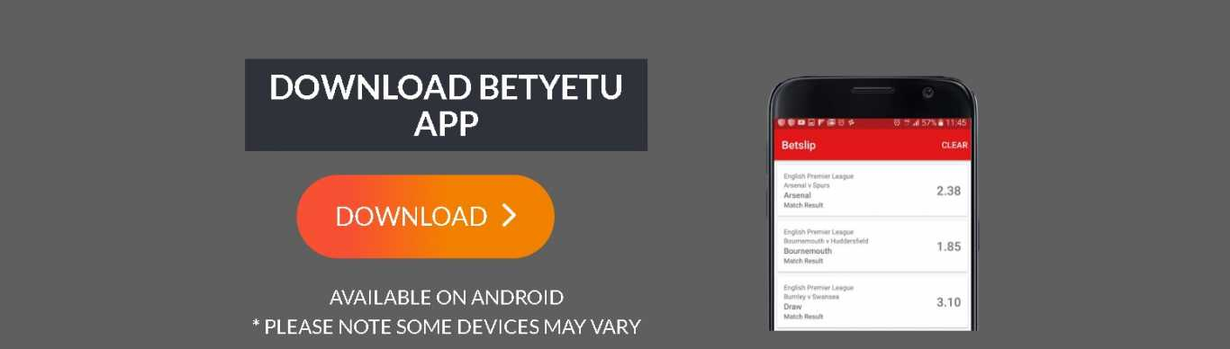 Betyetu apk for Android