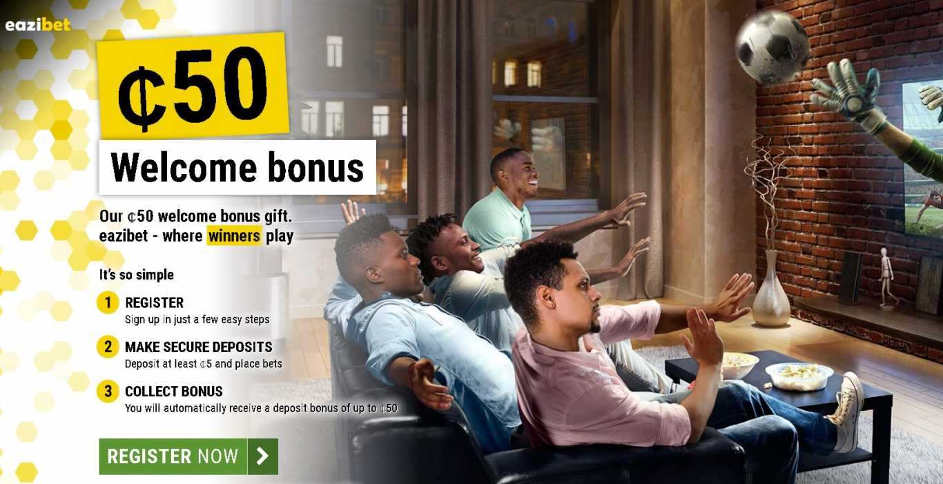 Eazibet bonus for registration