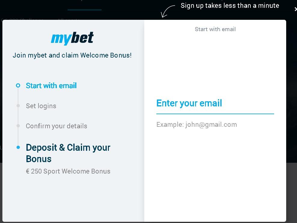 Mybet registration Ghana