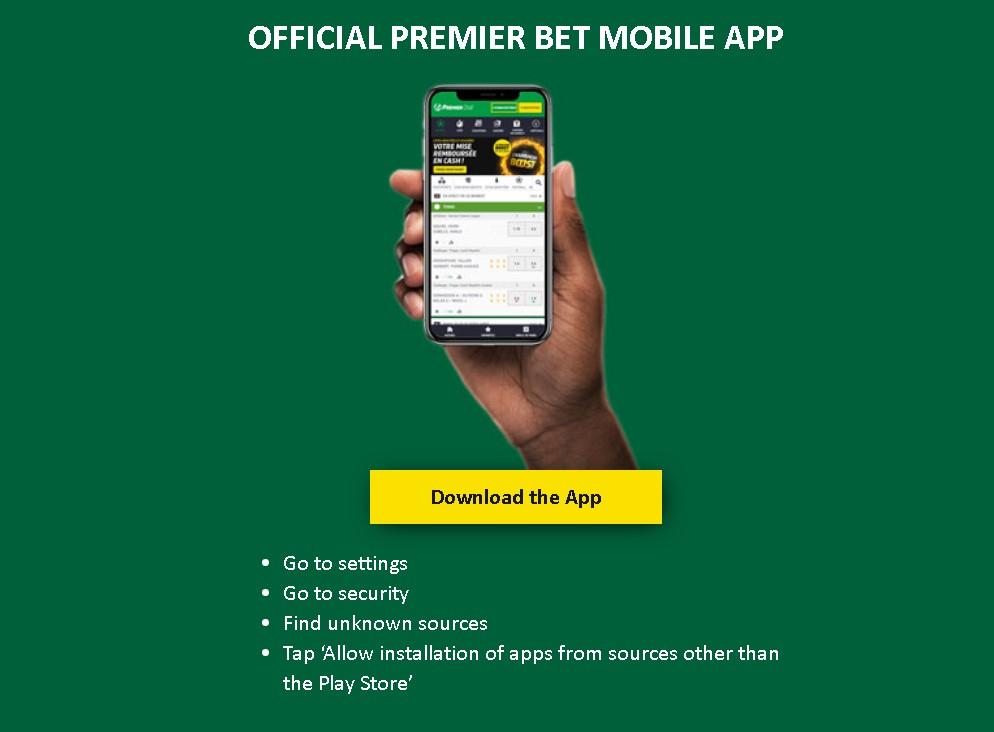 premier bet app download