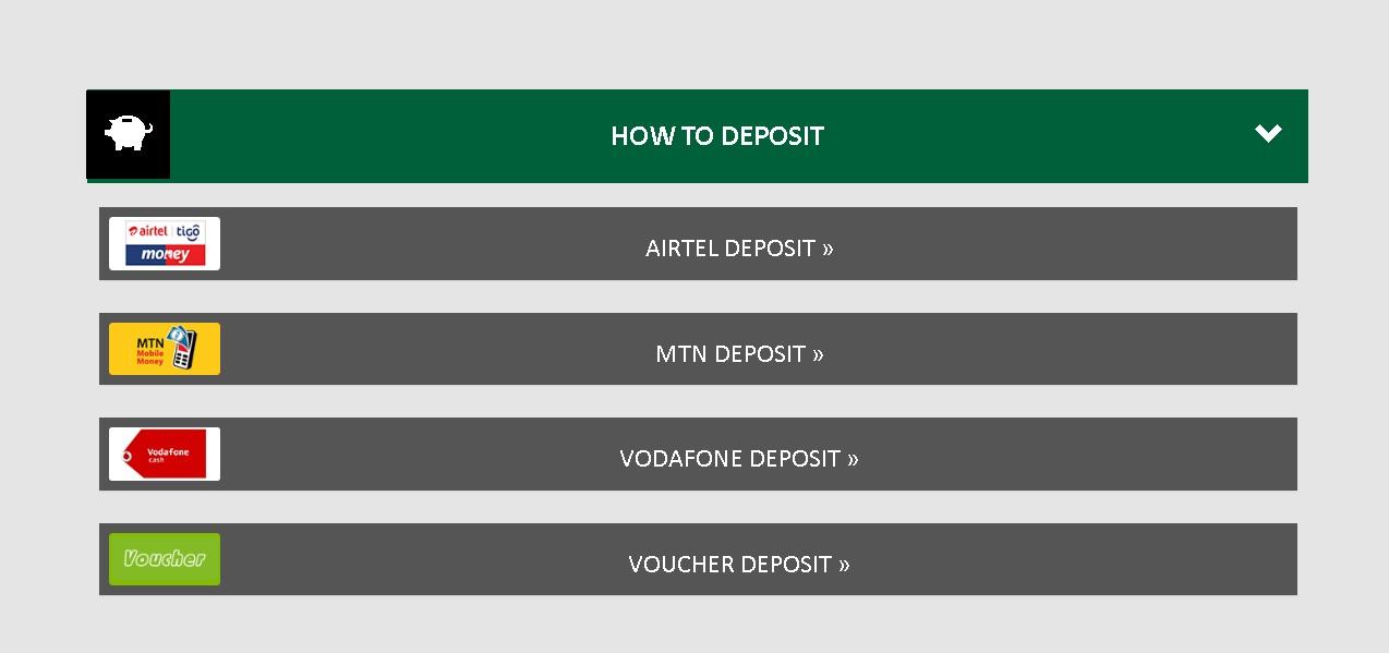 Premierbet gh how to deposit